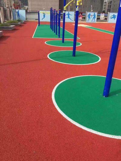 幼儿园EPDM橡胶地坪施工